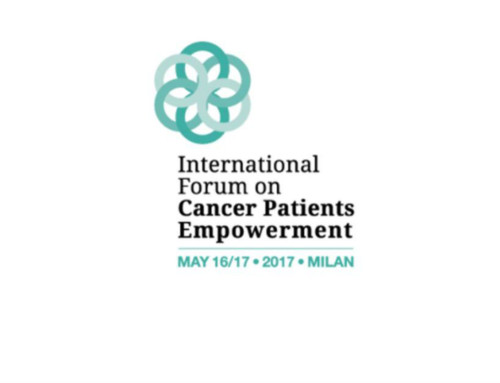 International forum on Cancer Patient Empowerment – May 16th – 17th, 2017 Milan