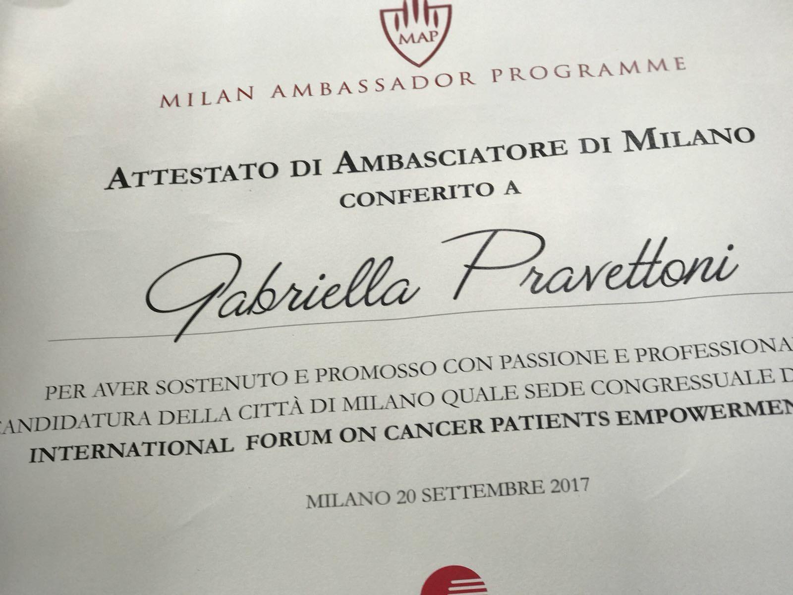 Milan Ambassador Programme 2